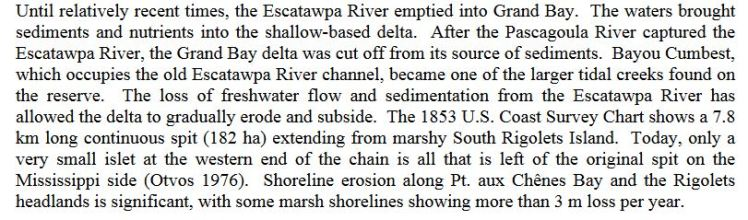grand bay excerpt about Escatawpa