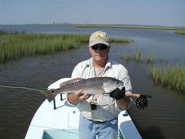 Grand Bay red fishing with RL